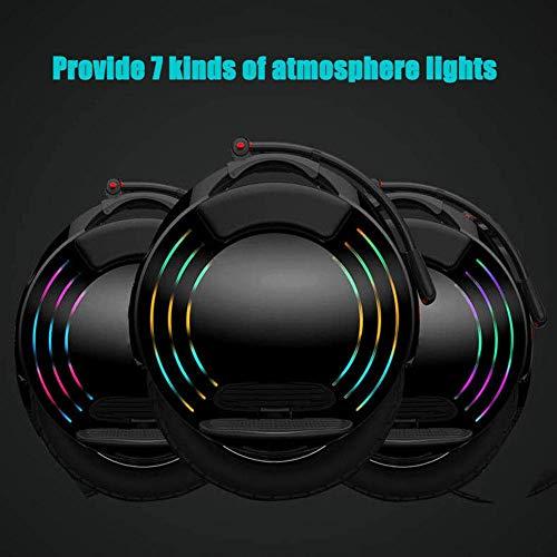 Elektro-Einrad mit hellen LED Scheinwerfer Bild 5*