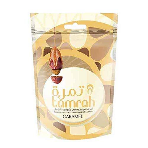 80g chocolade dadels met karamelchocolade en amandelen nieuwe en verbeterde kwaliteit