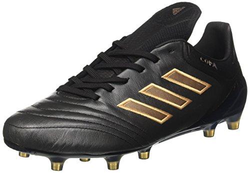 Adidas Copa 17.1 FG, para los Zapatos de Entrenamiento de fútbol para Hombre, Negro (Negbas/Cobmet/Negbas), 40 EU