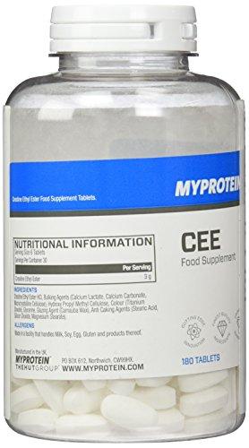 Myprotein CEE Creatine Ethyl Ester 180 Tabletten, 1er Pack (1 x 90 g)