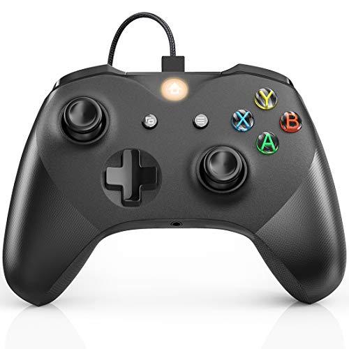 Wired Controller für Xbox One,Kabelgebundener Controller für Xbox Series X & S/One/PC Windows 7,8,10, JORREP Gamepad mit 3.5mm Audio Buchse