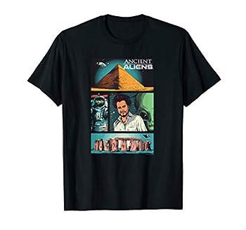 Ancient Aliens Comic Page T-Shirt