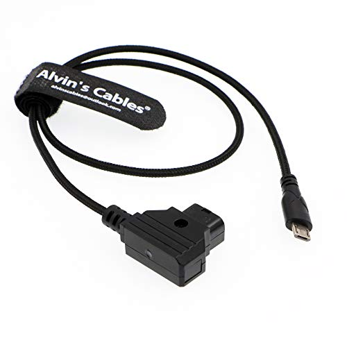 Alvin's Cables Cable de alimentación del Motor Micro USB a D-Tap para...