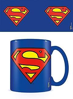 DC Comics Tazza dc Originals (Superman Logo), Ceramica, Multicolore, Unica