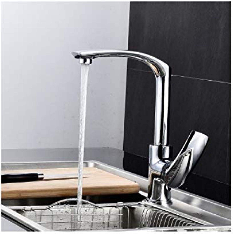 Lddpl Wasserhahn Küchenarmatur Alle Kupfer Mehrere Farben, 360-Grad-Drehung Deck Montiert Kalt Und Warm Waschen Gemüse Küchenarmatur