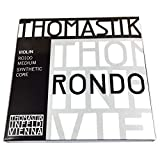 Thomastik Violin String RONDO (RO01, RO02, RO03A, RO04, 4) Set of 4 Types, Medium Tension RO100