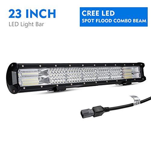 Simplive 32 Inch 180w 10 30v Led Light Bar Waterproof Off Road Let Light Flood Spot