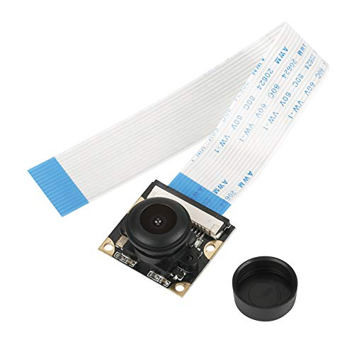 Denash Kamera-Modul für Raspberry Pi, 5MP Nachtsicht 130 ° Weitwinkel Kameramodul Board für Himbeer Pi B 3/2