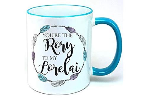 DKISEE Taza de regalo para hija, Gilmore Girls, You're The Rory to my Lorelai, divertida taza para hija