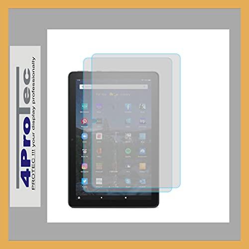 4ProTec | 2X Bildschirm-Schutz-Folie MATT für Amazon Fire HD 10 2021 11. Generation