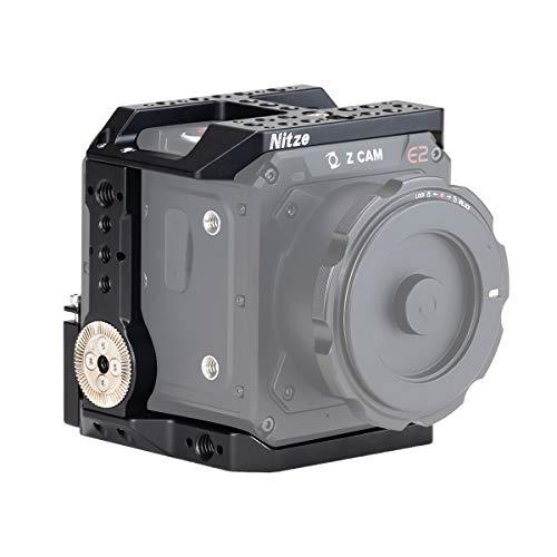 Nitze Cage für Kamera Z CAM E2-S6 / F6 / F8 mit eingebauter NATO-Schiene und ARRI-Rosette Links und rechts - TP-E2-FS
