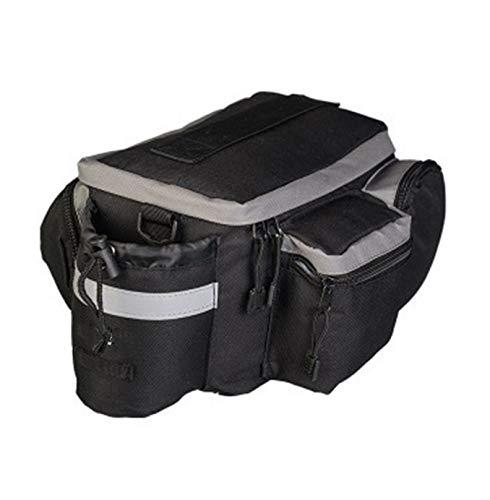 Bolsa impermeable para el asiento trasero, bolsa de sillín para bicicleta de...