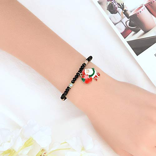 HINK Womens Bracelets, Christmas Style Simple Fashion Bracelet Single Layer Bracelet Bracelet, Jewelry & Watches for Christmas