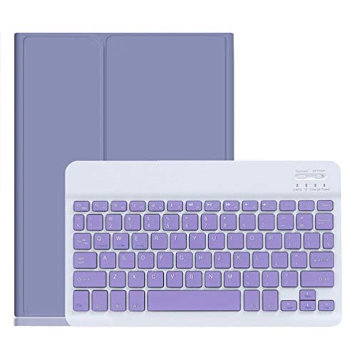 iPad Mini5 mini4 キーボード ケース キャンディー色 ペンホルダー付き アイパッド ミニ5 ミニ4 保護カバー 分離式 女性 人気 iPad mini 5 キーボード付き 薄型 カラフル 可愛い レディース (iPadMini4/Mini5