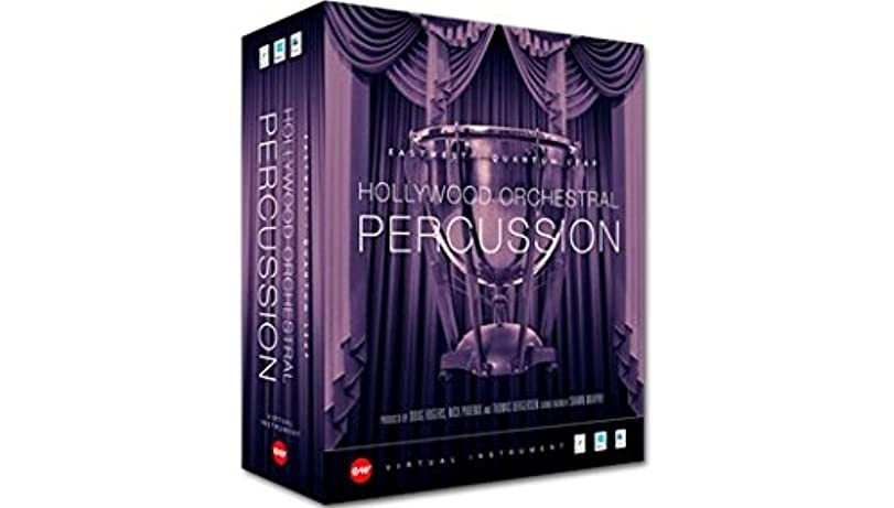 練るアンケート装置EASTWEST Hollywood Orchestral Percussion Gold Mac版 パーカッション音源コレクション