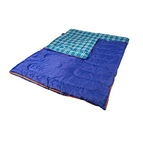 6 Lb - 2 Person Sleeping Bag - 87 in X 66 in