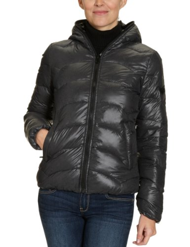 GAS Damen Jacke 63702 Aride A, Gr. 38, Schwarz (Black 0200)