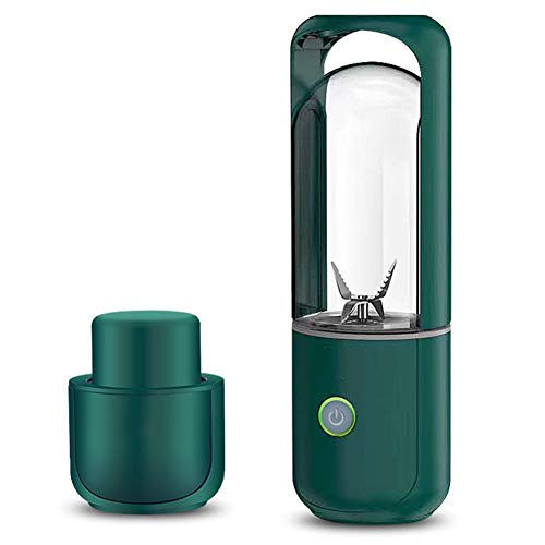 TYI -Portable Blender, Personal Size Electric USB Juicer Cup, Fruit, Smoothie, Baby Food Blender with Updated 4-Blade, Safety Switch Electric Fruit Blender, 380Ml Excellent Blending