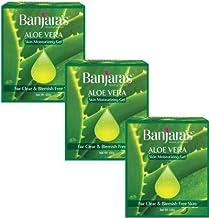 Banjara's Aloe Vera Skin Moisturizing gel 100gm (pack of 3)