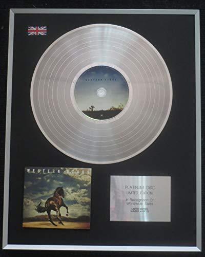 Century Presentations - Bruce Springsteen – Disque de platine LP édition limitée – Western Stars