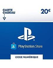 Sony PlayStation Store, Fonds pour porte-monnaie virtuel, Valeur 20 EUR, Code à télécharger, Compte français
