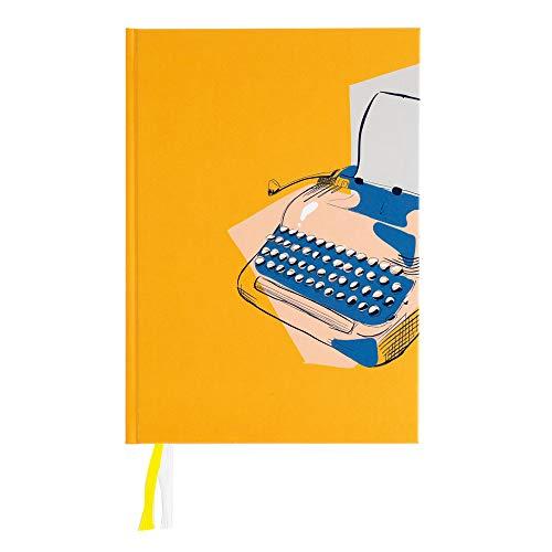 (nr. 830702) Bullet Journal Graphic Typewriter Gouden Lijntjes Anne Jorinde Kuiper