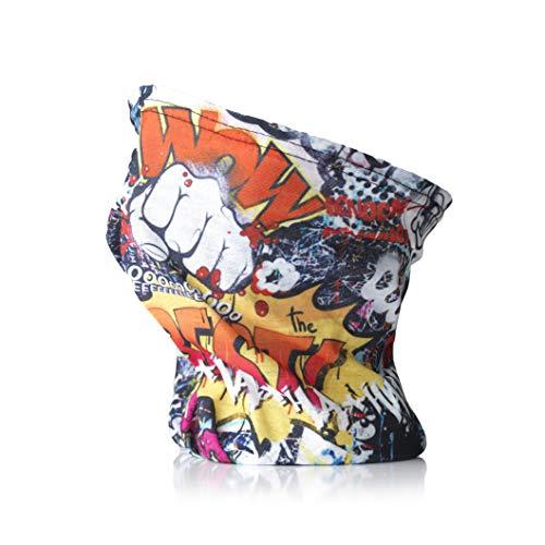 Tommy Humpisch - Pañuelo multifunción para hombre y mujer, para el deporte o el día a día, pañuelo funcional en diferentes colores con bordes cosidos Especial Talla única