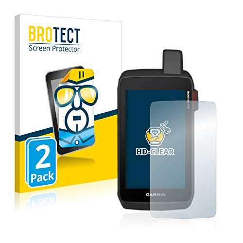 BROTECT Schutzfolie kompatibel mit Garmin Montana 700 (2 Stück) klare Bildschirmschutz-Folie