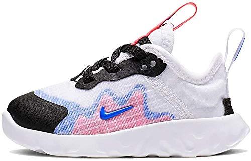 Nike Renew Lucent (TD), Zapatillas Bebé-Niños, Negro (Black/White 001), 22 EU