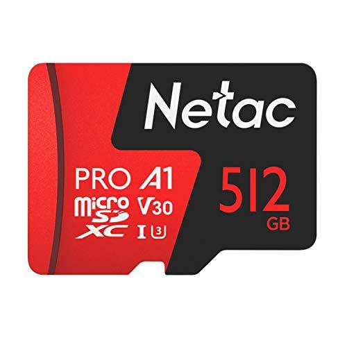 Cartão Memoria MicroSd 512GB Extreme Pro Netac c Adap
