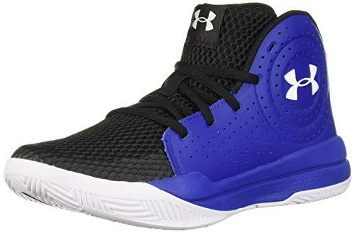 Under Armour Kids' Pre School Jet 2019 Basketball Shoe, Royal (400)/Black, 6.5
