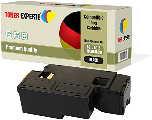 TONER EXPERTE® Compatible 106R01630 Negro Cartucho de Tóner Láser para Xerox Phaser 6000, 6010, 6010V, 6010V N, 6010N, WorkCentre 6015, 6015V, 6015V B, 6015V N, 6015V NI, 6015MFP