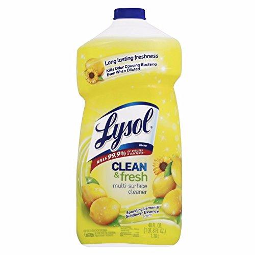 Lysol Power and Fresh All Purpose Cleaner, Lemon Sunflower, 40 Ounce