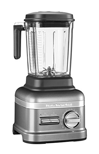 KitchenAid 5KSB8270EMS, Artisan Power Plus Blender/Standmixer, Medallion Silber