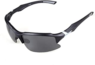 Tailwind Sport Sunglasses with Case - No-Slip for Cycling, Biking, Running