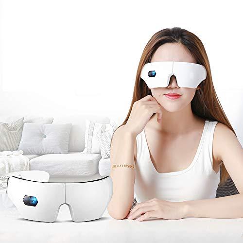 Dampfaugenmaske, beheizte Schlafaugenmaske Blindfold, einstellbare Temperatur + Timing + faltbar + usb Charging, lindern Puffy Dark Circle Dry Eyes Blepharitis