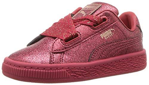PUMA Basket Heart Patent Kids Sneaker