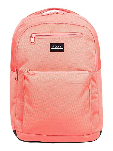 Roxy Here You Are Textured Deep Sea Coral Backpack