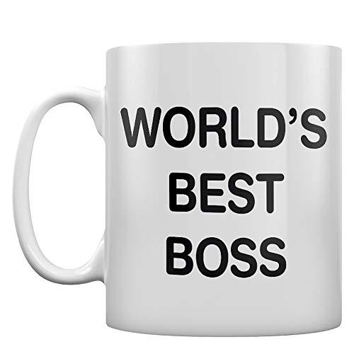 World's Best Boss Mug by RealSlickTees