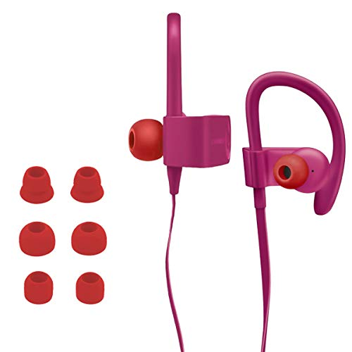 kwmobile 8x Replacement Double Flange Ear Tips Compatible with Beats...