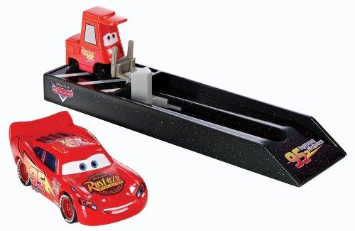 Cars - Y7887 - Véhicule Miniature - Lanceur - McQueen