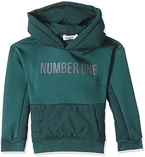 Giggles Basic Side Pocket Ribbed Trim Long Sleeves Hooded Sweatshirt for Boys