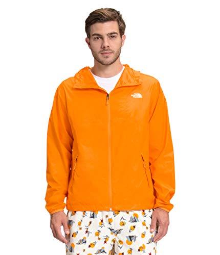 The North Face Men's Cyclone Jacket, Light Exuberance Orange, M