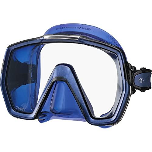 TUSA M-1001 Freedom HD Scuba Diving Mask, Indigo...