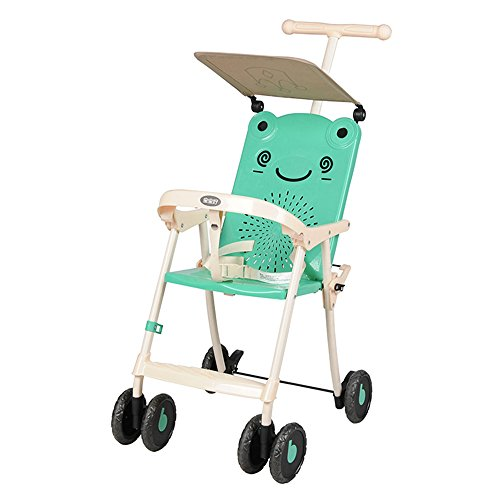 Best Bargain LXZXZ - Artifact Portable Easy to Carry Baby Stroller Child Cart Simple Baby Cart Foldi...