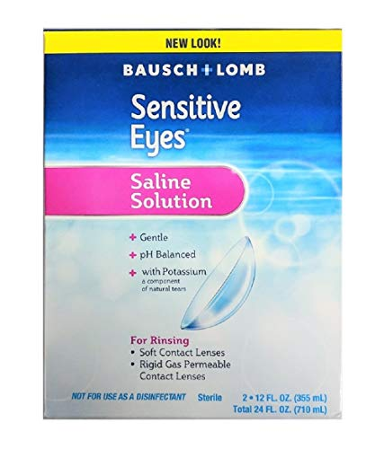 Contact Lens Solution by Bausch & Lomb, Sensitive...
