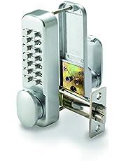 Securefast Mechanische Digilock Digitale Drukknop Deur Key Pad Lock - Zilver Model SBL310