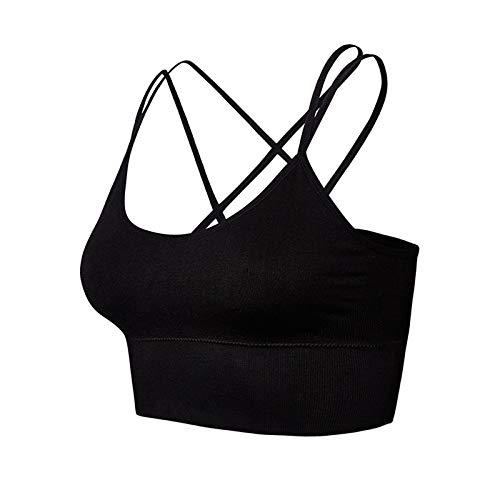 Groot formaat Cross Beauty Back Yoga Sportbeha zonder stalen ring Schokbestendig Ademend Fitness Sportvest Dames