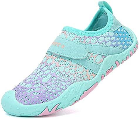 HECODI Water Shoes Kids Aqua Athletic Swim Beach Pool Sport Summer Shoes for Boys