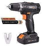 20V Power Drill,Tacklife Cordless Drill Driver, 2...